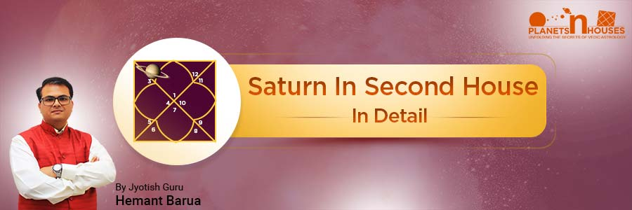 Saturn in the Second House